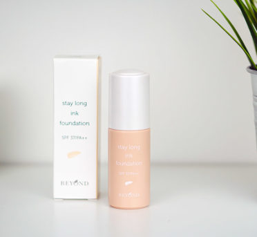 Beyond Stay Long Ink Foundation Review Korean Makeup