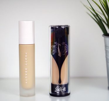 Kat Von D vs Fenty Beauty Vegan Foundation Comparison