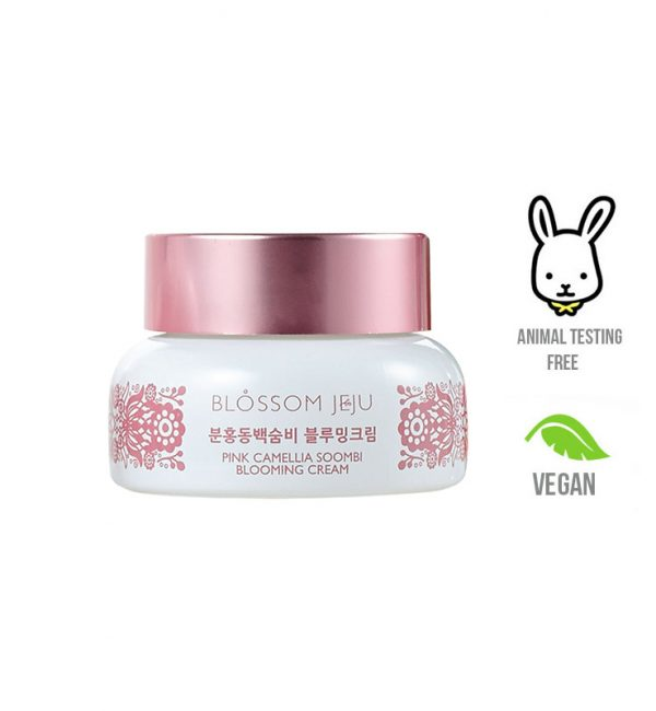 Blossom Jeju Pink Camellia Soombi Blooming Flower Cream